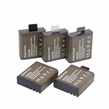 AOPULY 5Pc/lot Action Camera Battery PG1050 For SJCAM SJ4000 SJ5000 SJ6000 SJ8000 EKEN 4K H8 H9 GIT-LB101 GIT PG900 1050 BATTERY