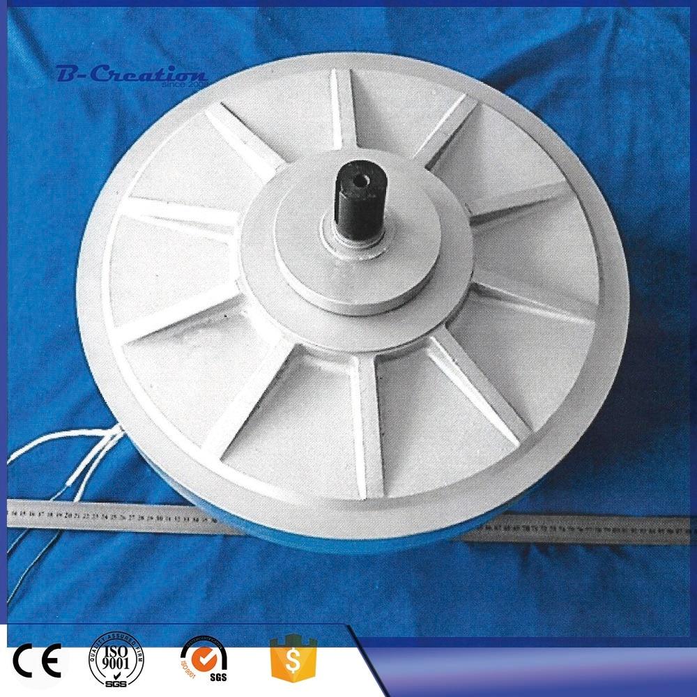 PMG 500W 350RPM Coreless PMG generator/wind alternator Outer rotor generator, three-phase permanent magnet alternator 1000w 200rpm low rpm vertical wind pmg alternator permanent magnet ac alternator