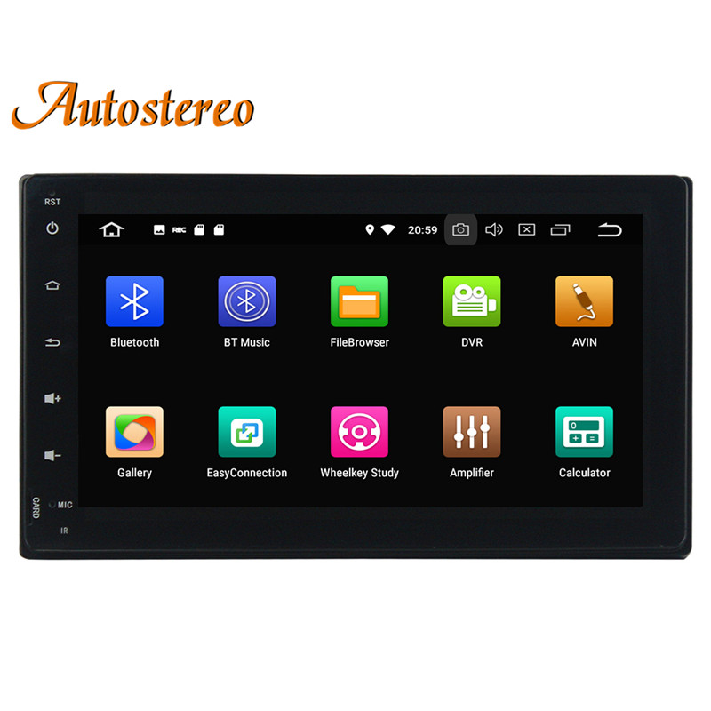 Sale Android 8.0 Car No DVD Player GPS navigation For Toyota Corolla/Fortuner 2016+ Stereo Head unit Multimedia radio tape recorder 3