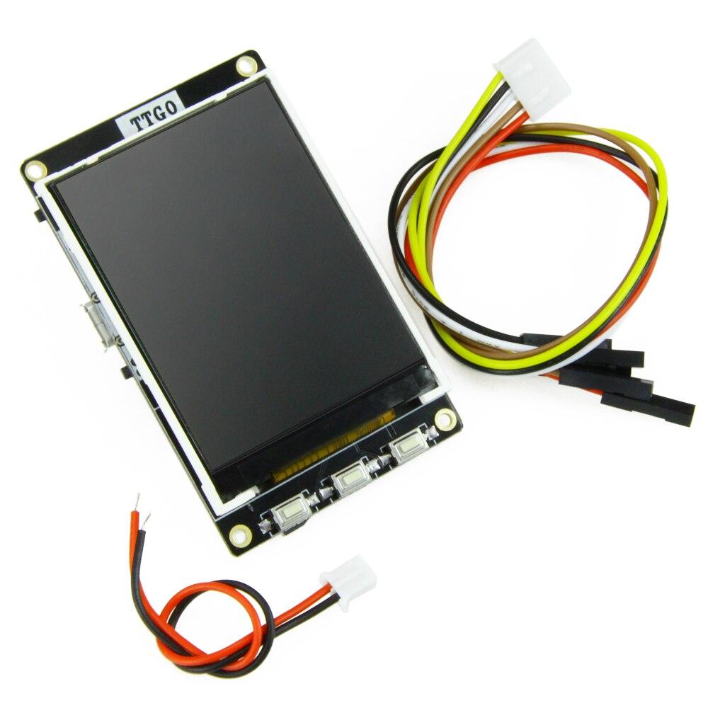 TTGO nuevo BTC corazón ESP32 para Arduino 4 MB Flash SPI 4 MB PsramSource precio Bitcoin Ticker programa