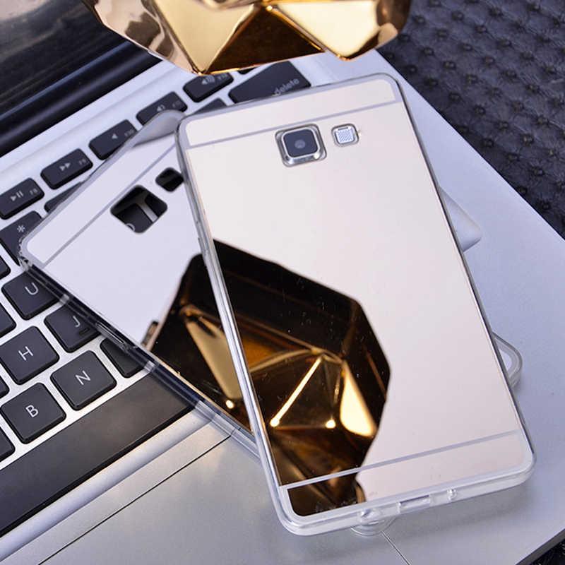 หรูหราอัลตร้าบางB LingกระจกTPU Soft CASEสำหรับS Amsung G Alaxy A3 A5 A7 2017 J3 J5 J7 2016 2015กรณีสำหรับS6 S7ขอบS8 S9กรณี