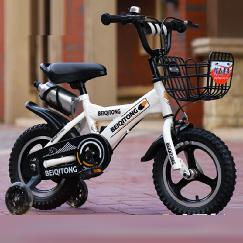 Children's Bicycle 2-3-6 Years Old Baby Buggy 12-inch Male And Female Bicycle