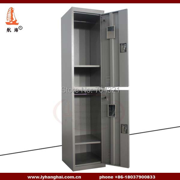 China Locker Factory Promoting 2 Door Metal Storage Cabinet Cheap
