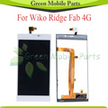For Wiko Ridge Fab 4G LCD Display Touch Screen Digitizer Assembly Free Shipping