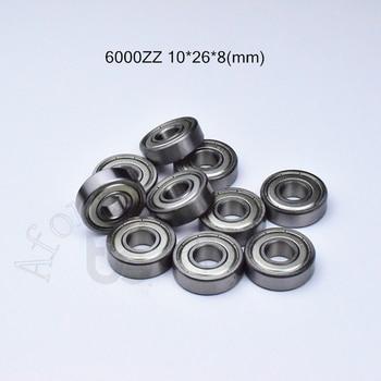 6000ZZ 10*26*8(mm) 1Piece bearing ABEC-5 6000 6000z chrome steel deep groove - discount item  10% OFF Hardware