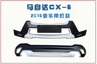 Заводской ABS спереди + сзади Бамперы для автомобиля водить автомобиль бампера протектор гвардии опорная плита автомобиля Интимные аксессуа
