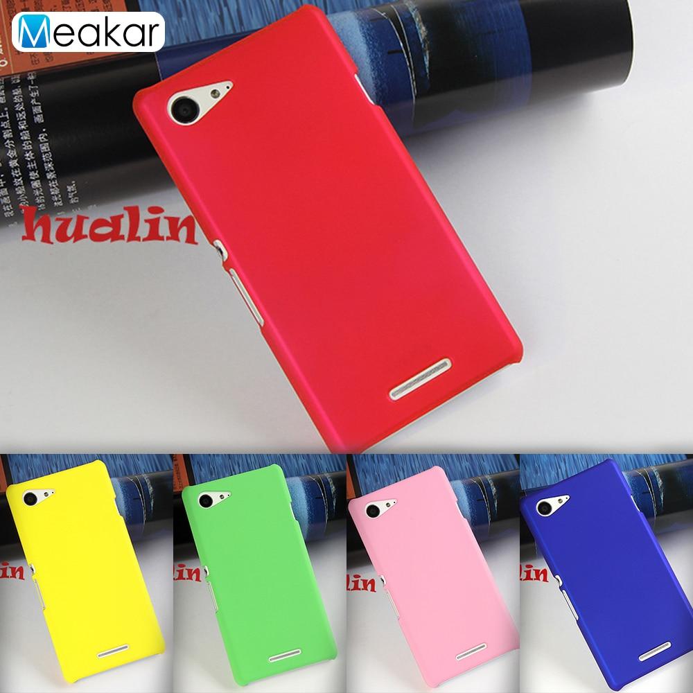 Coque-Cover Case D2212 Sony Xperia Phone-Back Matte For E3 Plastic Dual-D2203