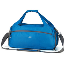 Мужская водонепроницаемая дорожная сумка для фитнеса, спортивная сумка, тренировочная с разделителем для сухого и влажного плавания, багажная сумка, модная большая емкость