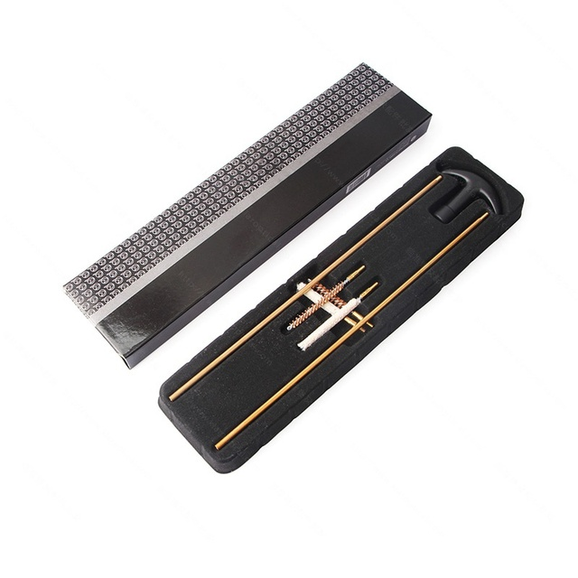 4.5/5.5mm Gun Cleaning Kit For Rifle Pistol Handgun Professional Gun Cleaning Set Gun Brush Tool Hunting Accessories Th