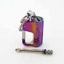 Flint Kit doutils de survie Portable, démarreur de feu, allume feu, allume feu pour lextérieur, sans Gadgets à huile pour hommes