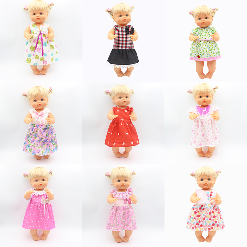 Hot Dress Doll Clothes Fit 35cm-42cm Nenuco Doll Nenuco Su Hermanita Doll Accessories