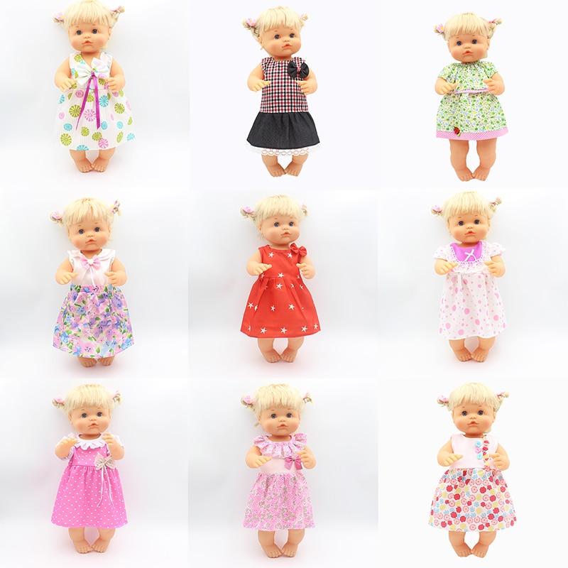 Hot Dress Doll Clothes Fit 35cm-42cm Nenuco Doll Nenuco Su Hermanita Doll Accessories