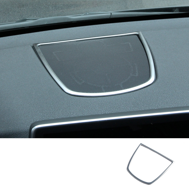 Interior Dashboard middle console Speaker Cover Trim For BMW X5 F15 2014 2015
