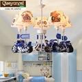Qiseyuncai 2018 новая детская спальня мультяшная люстра простая современная лампа для учебы креативная индивидуальная лампа для мальчика