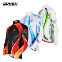 DONEN Hot Sale Spring Summer Cycling Jersey Breathale Women Man Bike Clothing Racing MTB Bicycle Clothes