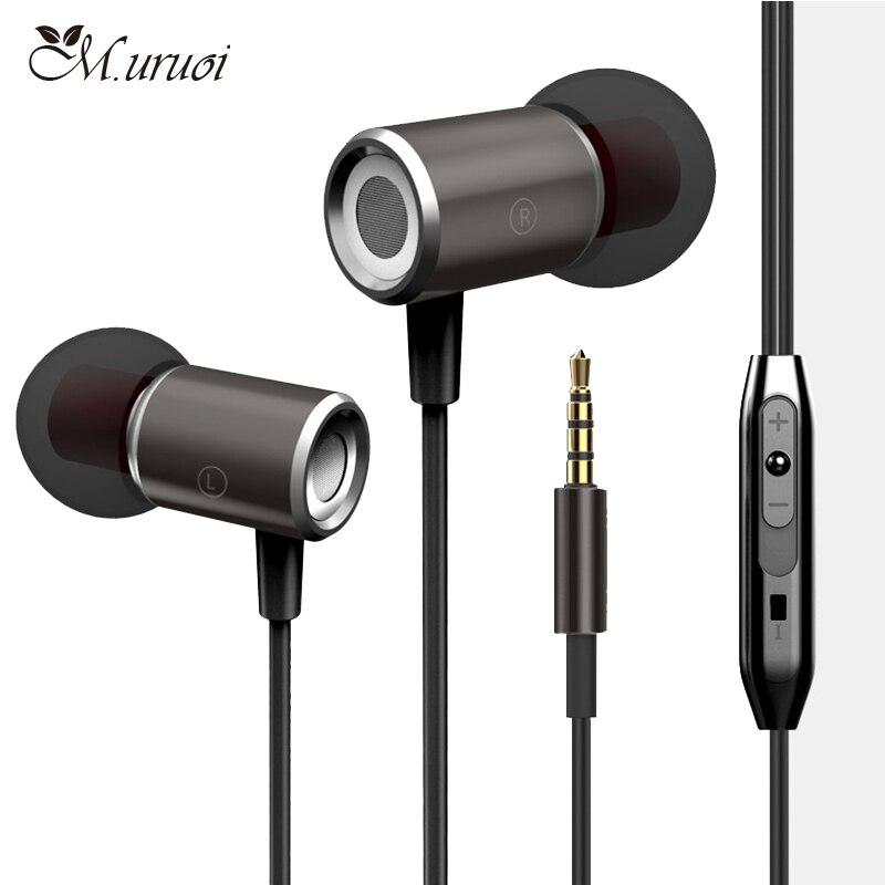 Apple hands free earphones - wired magnetic earphones