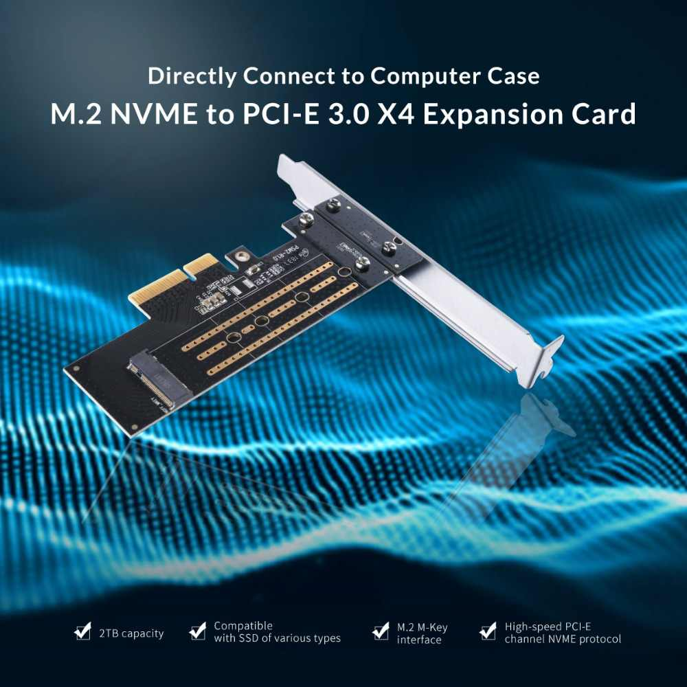 ORICO M 2 NVME to PCI-E 3 0 X4 Expansion Card for Laptop Support Windows  XP/7/8/Vista 10