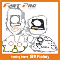 Motorcycle Cylinder Engine Crankcase Gasket Full Set For HONDA XR400 1996-2004 96 97 98 99 00 01 02 03 04