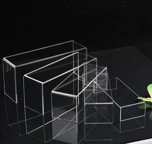 US $48.89 |10 stücke Brieftasche kosmetik schmuck puppe schuhe leder display rack Acryl U stil auslage schuh ständer halter in Schuhschränke aus Möbel