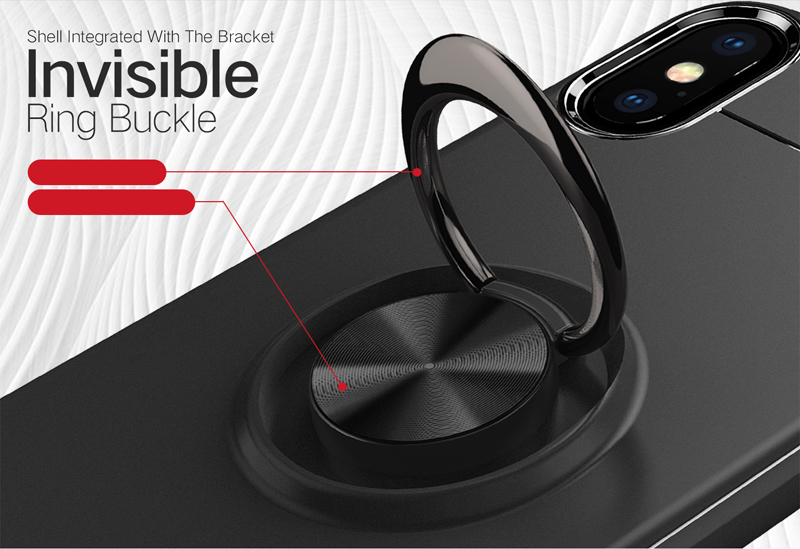 Car Ring Holder Stand Cover For iphone 6 6s Plus Cases