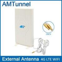 4 Gam LTE Bên Ngoài Bảng Điều Chỉnh Antenna 700-2600 MHz ăng ten CRC9 Nối