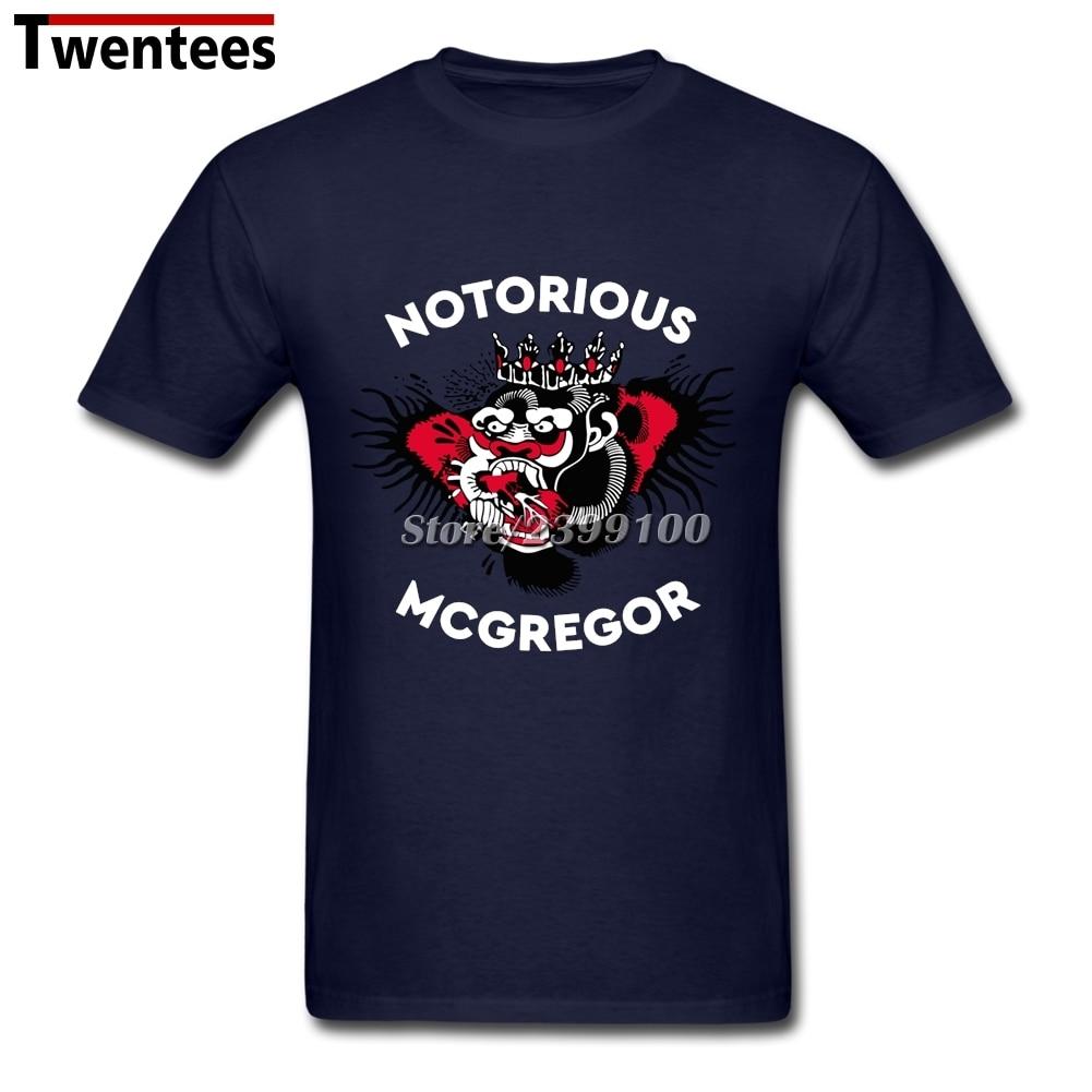 conor mcgregor tatuaje camisetas camiseta para hombres multicolor blanco manga corta xl par