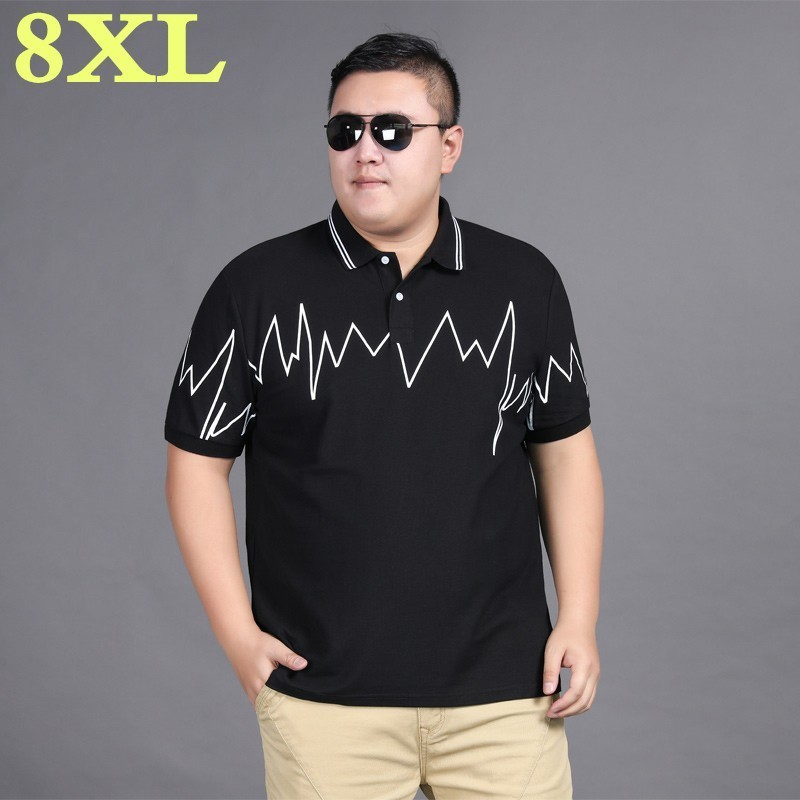 New plus size <font><b>8XL</b></font> 7XL summer <font><b>polo</b></font> <font><b>shirt</b></font> <font><b>men</b></font> short sleeve <font><b>polos</b></font> <font><b>shirts</b></font> <font><b>mens</b></font> <font><b>polo</b></font> clothes dress bodybuilding streetwear poloshirt image