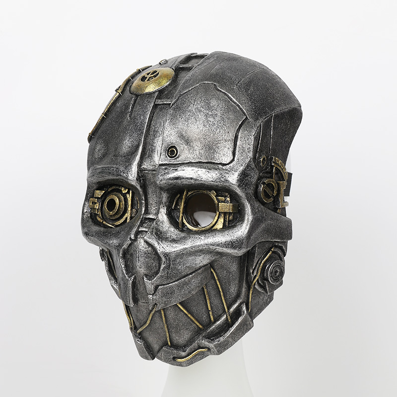 FRP Dishonored 2 Corvo Attano Mask Dishonored Corvo Attano Helmet For Cosplay Game Costume Accessories-in Costume Accessories from Novelty & Special Use    3