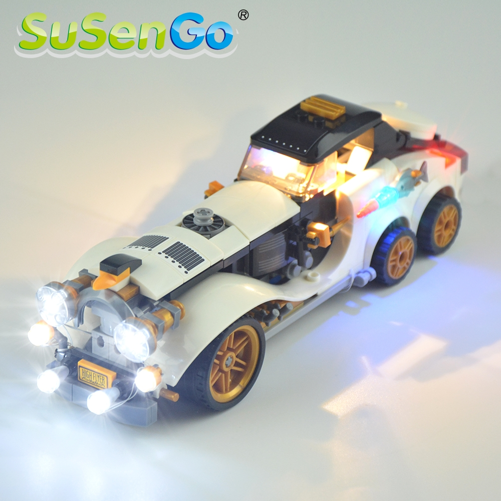 Susengo Led Light Kit Only For Batman Movie The Penguin Arctic Roller Penguin Lighting Set Compatible With 70911 And 07047 Blocks Aliexpress