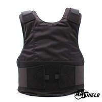 AA Shield Ballistic Suit Body Armour Vest Comfortable Bullet Proof Aramid Core Insert Safety Black Level NIJ IIIA &HG2 M/L