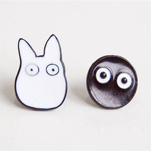 Animal Candy Color Totoro Earrings