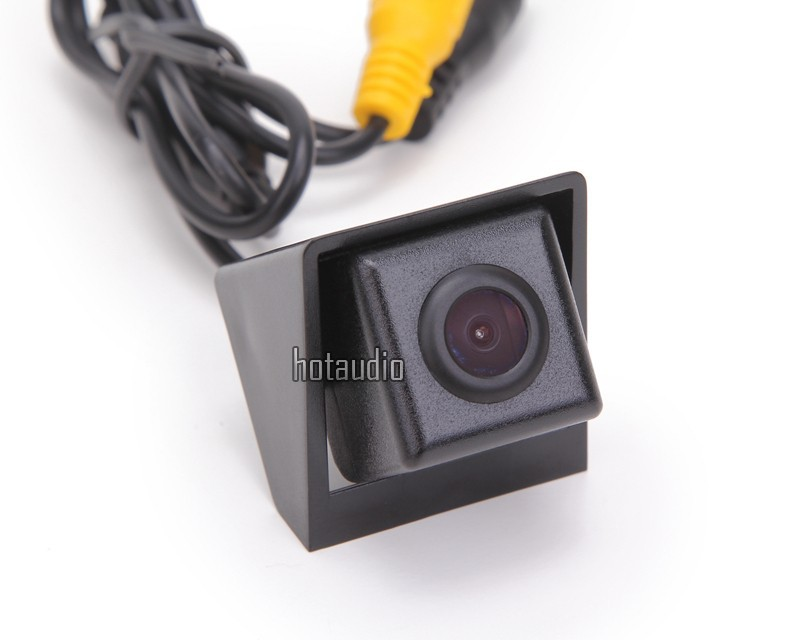 Rear view Car Rear View Camera For Ssangyong new Actyon Korando rear camera vehicle water-proof Parking assist with LED light image