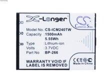 Cameron Sino 1500mAh Battery BP-266 for Icom IC-M23, IC-M24