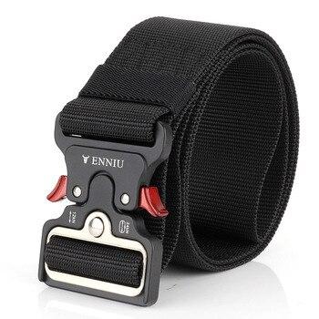 nueva llegada a4bf2 eee67 Cinturón táctico para hombre, cinturones para hombre, pantalones de lujo,  cadena de nailon para correr, Ofertas Calientes Con Envio Gratis, anillo de  ...