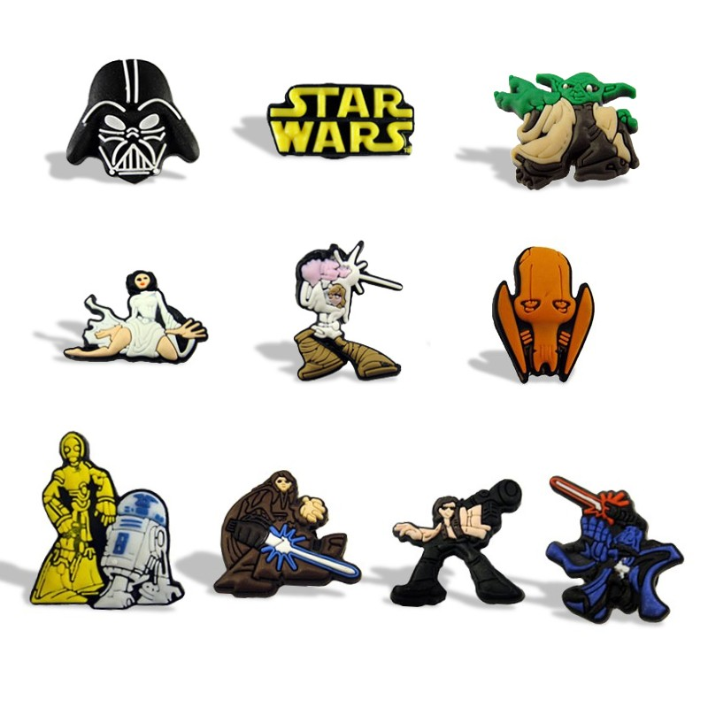 18pcs/lot Cool Star Wars Children Magnetic Stickers Cartoon Fridge Magnets Pvc Blackboard Magnets Kids Toys Birthday Gift