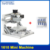 CNC Rounter DIY 1610 Mini CNC Machine  working area 16*10*4.5cm  3 Axis PCB Milling Machine with GRBL Control
