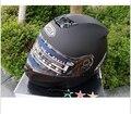SHOEI Флип мотоциклетный шлем полный шлем мотоциклетный Шлем ATV шлем Безопасности с двумя объективами матовый черный