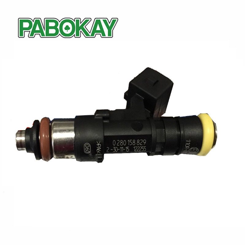 2 PCS Genuine Fuel Injector 0280158829 EV1 Connector 210LB 2200cc High impedance