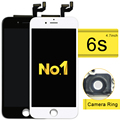 20pcs  New For  Iphone 6s Lcd Display And Touch Screen Digitizer Full Assembly Replacement Complete +camera Holder+frame