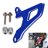 NICECNC Front Sprocket Chain Guard Cover Engine For Yamaha YZ250 1999 2017 2018 YZ250F 2001 2013