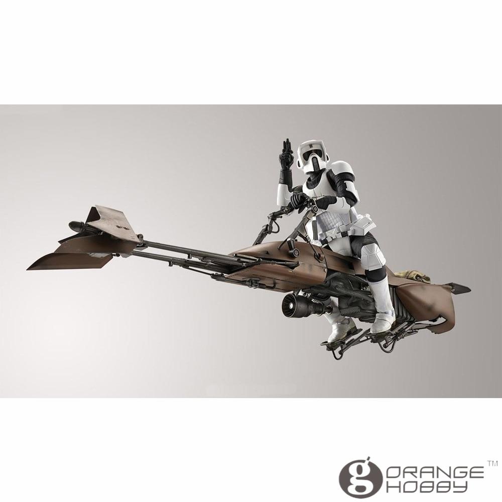 OHS Bandai Star War 1/12 Scout Trooper & Speeder Bike รุ่นชุด oh-ใน ชุดการสร้างโมเดล จาก ของเล่นและงานอดิเรก บน   3
