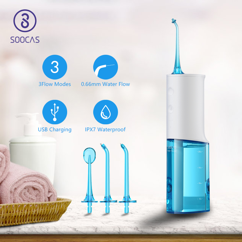 SOOCAS Toothpick-Cleaner Water-Flosser Oral-Irrigator Electric Rechargeable Xiaomi Dental
