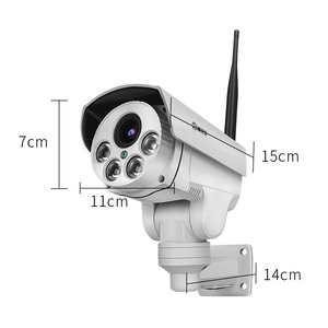 Image 5 - 1080P Wifi  IP Camera Wireless Wifi Security Camera Bullet With Audio Night Vision Indoor Outdoor IP66 with PTZ 5X Zoom videcam