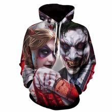 f8c51254db6c cjlm Men Sweatshirts Womens Long Sleeve 3D Suicide Squad Joker Print Hip Hop