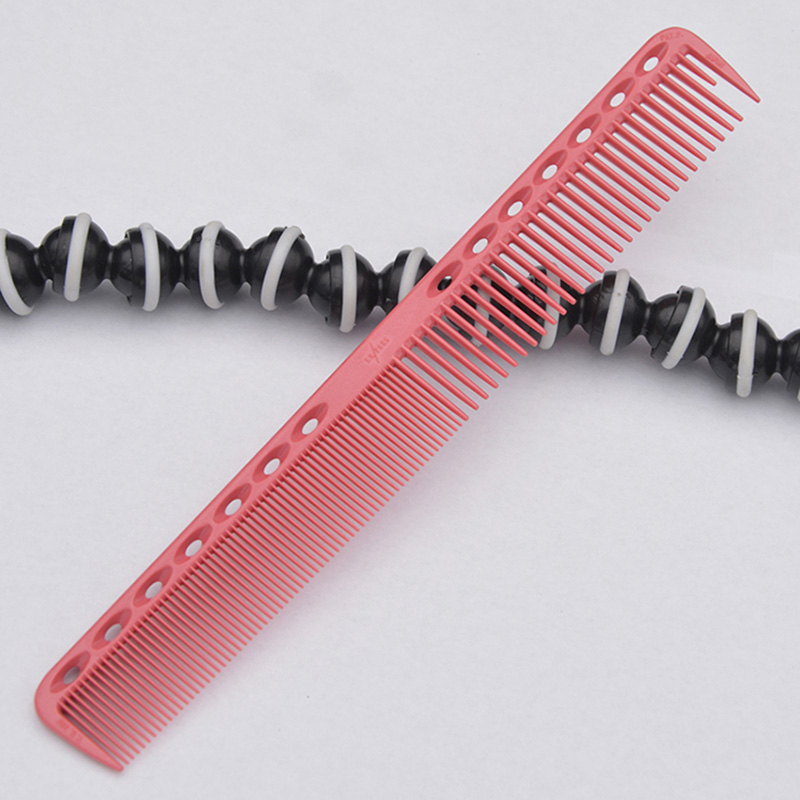 Hairdressing Hair Stylist Salon Carbon Combs Kit Silicon Carbon Anti Static Profesional Barber Combs in Combs from Beauty Health