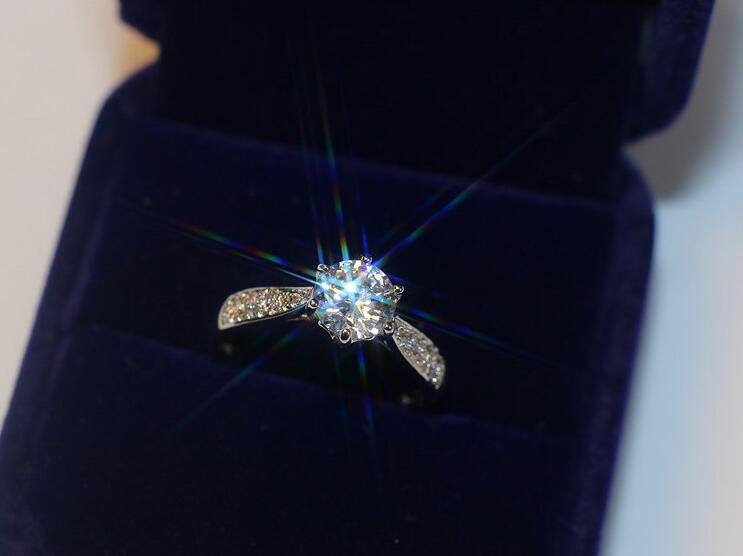 Victoria Wieck Luxe choucong Bijoux 14Kt Or Blanc Fille GF CZ pierres Round Cut De Mariage Femmes Bande Bague Size5-11