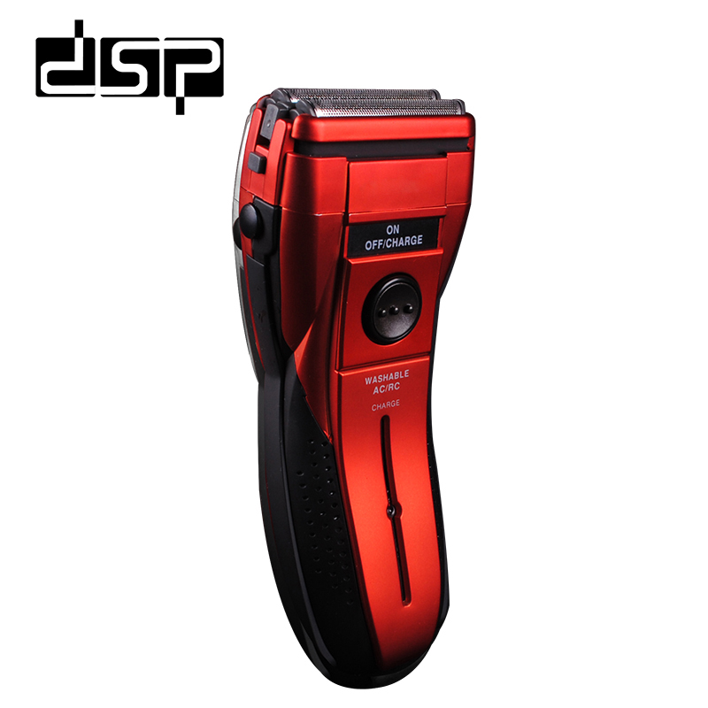 DSP Rechargeable Electric Shaver Razor Hair Removal Rechargeable Razor Beard Trimmer Styling Tools For Man Face