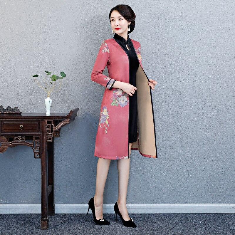 Pièces Longues Robe style Style 1 Court style Manches 4 Velours Vêtements style style M Cheongsam 7 Chinois 2 Ensemble 4xl style À Nouveau Qipao style 11 5 style 10 3 style 9 style 6 Traditionnel 2 8 style vEwAAq7T