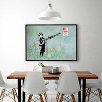 Banksy Chico Guay No Parking Tirador Cartel Impresiones Grandes Pinturas Lienzo Arte de La Pared Decoración Del Hogar Para la Sala de estar Decoración De La Navidad