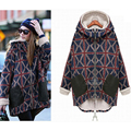 Abrigo de Invierno ropa de Abrigo Chaqueta de las mujeres Embarazadas de maternidad L2388